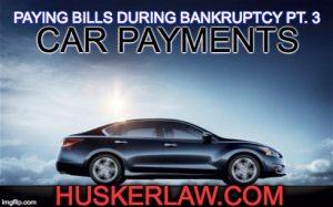 Paying Bills During Bankruptcy Pt. 3