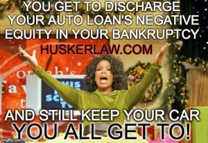 Auto Loans in Chapter 7 Bankruptcy Pt. I